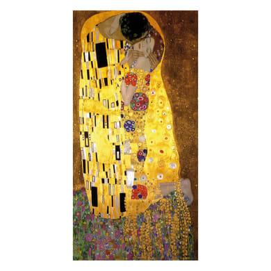 Quadro su tela Bacio Di Klimt 100x50 cm