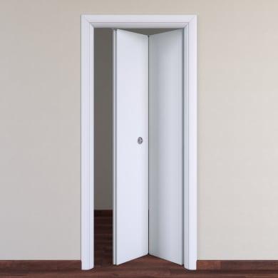 Porta pieghevole Pearl bianco L 70 x H 210 cm destra