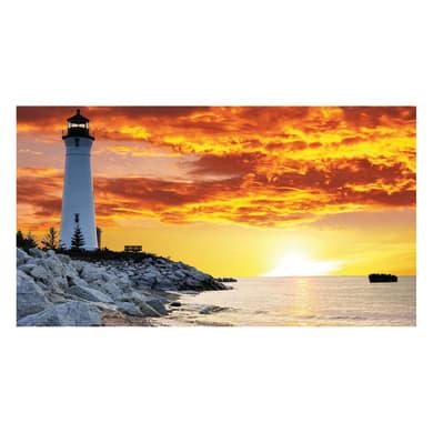 Quadro su tela Lighthouse 60x120 cm