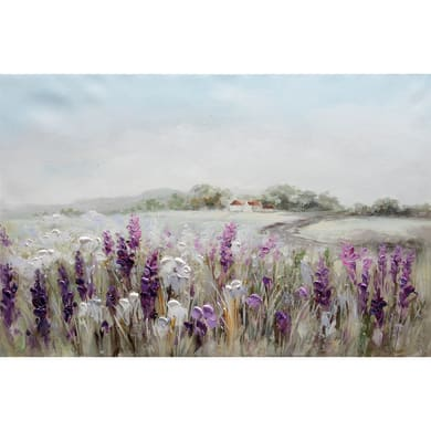 Quadro dipinto a mano Campo Fiori 90x60 cm
