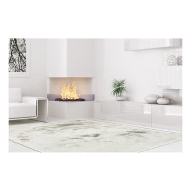 Tappeto Shaggy paradise , argento, 200x300 cm