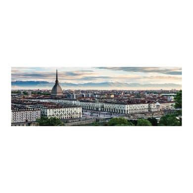Quadro su tela Torino veduta 33x95 cm