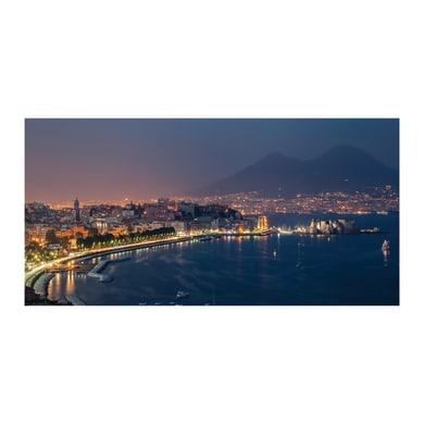 Quadro su tela Golfo di Napoli 70x140 cm