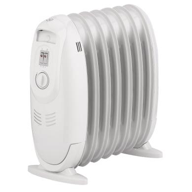 Convettore mobile elettrico EQUATION bianco 900 W