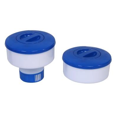 Dosatore di cloro e bromo galleggiante