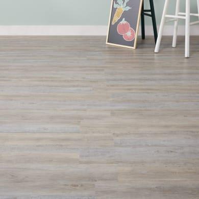 Pavimento PVC flottante clic+ Conondale Sp 5 mm grigio / argento