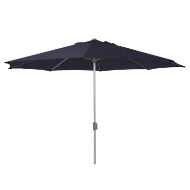 Ombrellone da patio NATERIAL ombrellone Rhea L 4 x P 4 m color blu
