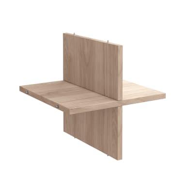 Mensola SPACEO Kub in legno L 32.6 x H 32.7 x Sp 31.5 cm
