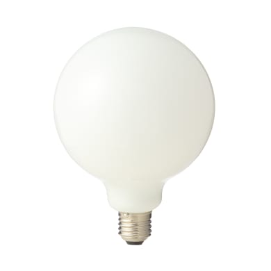 Lampadina LED filamento E27, Globo, Opaco, Bianco naturale, 12W=1521LM (equiv 100 W), 360° , LEXMAN