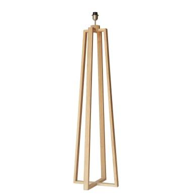Base per lampada Sachi legno chiario, H 137.0 cm, E27 MAX60W N/A