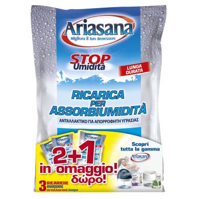 Kit assorbiumidità HENKEL Ariasana neutro 3x450g