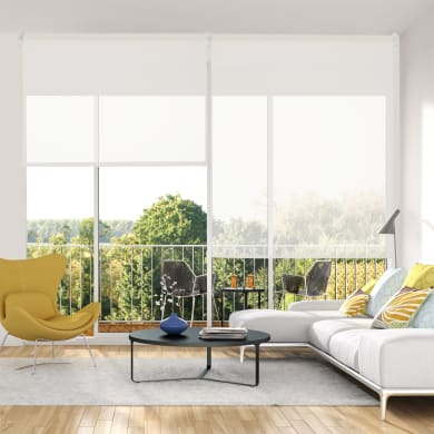 Tenda a rullo filtrante INSPIRE Screen bianca 60 x 190 cm