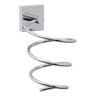 Supporto asciugacapelli Ekkro grigio / argento