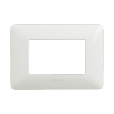 Placca Matix BTICINO 3 moduli bianco