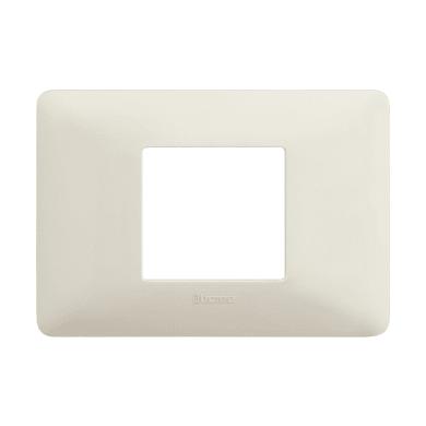 Placca Matix BTICINO 2 moduli bianco