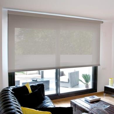 Tenda a rullo filtrante INSPIRE Screen grigio perla 45 x 190 cm