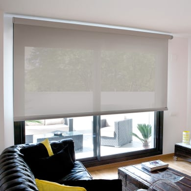 Tenda a rullo INSPIRE Screen grigio perla 60x190 cm