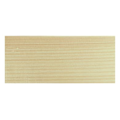 Coprifilo in legno legno massello abete L 2250 x P 8 x H 63 mm