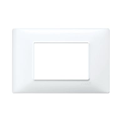 Placca VIMAR Plana 3 moduli bianco