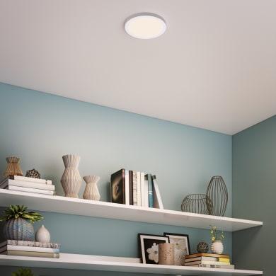 Faretto fisso da incasso tondo Manoa  in Metallo bianco, diam. 17 cm LED integrato 15W 1660LM IP44 INSPIRE