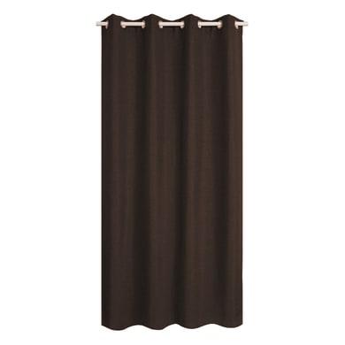 Tenda INSPIRE Oscurante Cardiff cacao anelli 140 x 280 cm