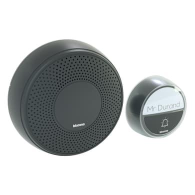 Campanello senza filo BTICINO Comfort wireless nero