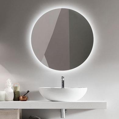 Specchio non luminoso bagno rotondo