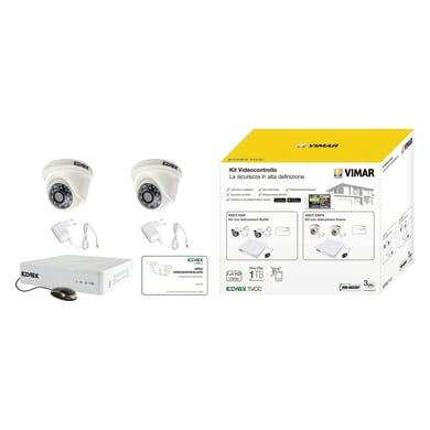 Kit di videosorveglianza filare ELVOX VIMAR 436F