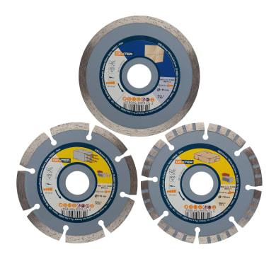 Disco diamantato sinterizzato DEXTER Ø 115 mm
