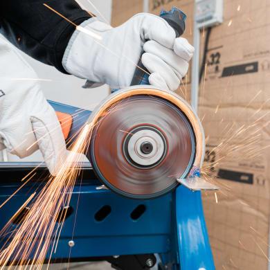 Ruota abrasiva DEXTER per metallo Ø 115 mm
