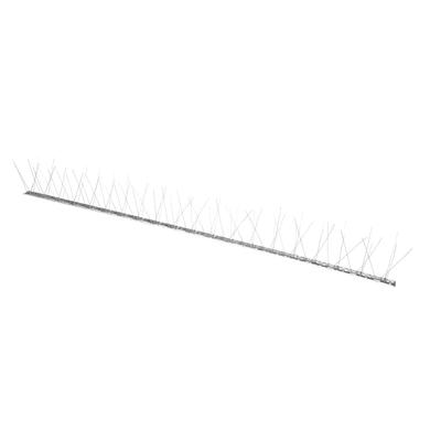 Dissuasore per volatili in acciaio galvanizzato 100 x 100 cm grigio