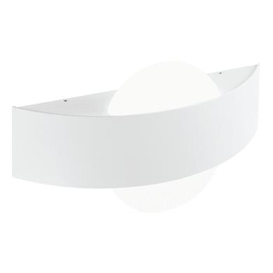 Applique Dexter LED integrato in alluminio, bianco, 10W 500LM IP54