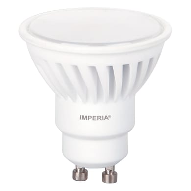 Lampadina LED, GU10, Faretto, Opaco, Luce naturale, 9W=900LM (equiv 66 W), 120°