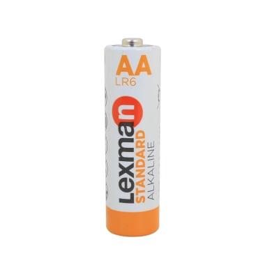 Pila alcalina LR6 AA LEXMAN 844997 12 batterie