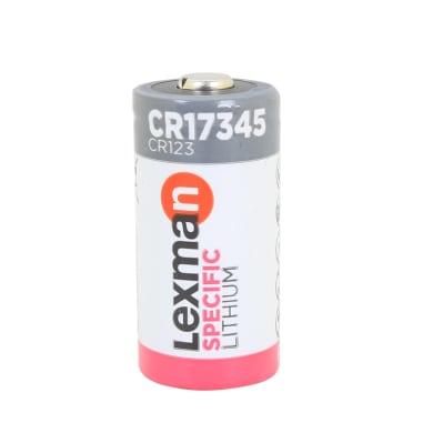 Batteria al litio CR123A LEXMAN 844969 1 batteria