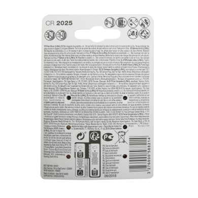 Batteria al litio CR2025 / DL2025 LEXMAN 844952 6 batterie