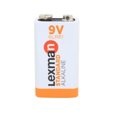 Pila alcalina 6LR61 LEXMAN 844965 3 batterie