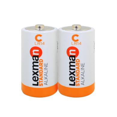Pila alcalina LR14 LEXMAN 844984 2 batterie