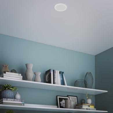 Faretto fisso da incasso tondo Exflat  in Alluminio bianco, diam. 17 cm LED integrato 20W 2100LM IP20 INSPIRE