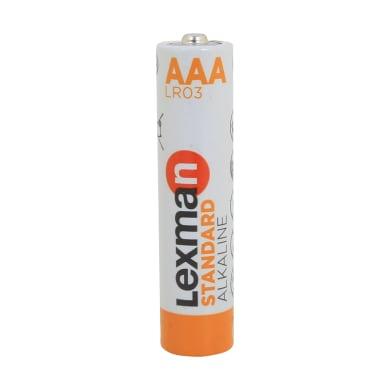 Pila alcalina LR03 AAA LEXMAN 844989 12 batterie