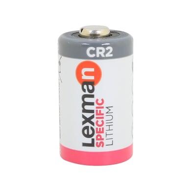 Batteria al litio CR2 LEXMAN 844966 1 batteria