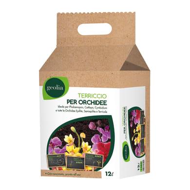 Terriccio GEOLIA per orchidee 12 L