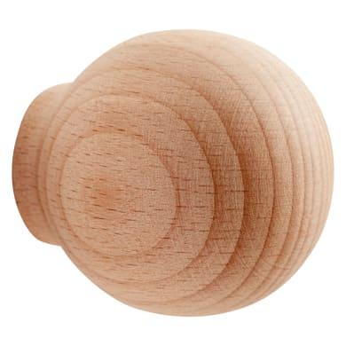 Pomolo per mobile in legno trasparente grezzo