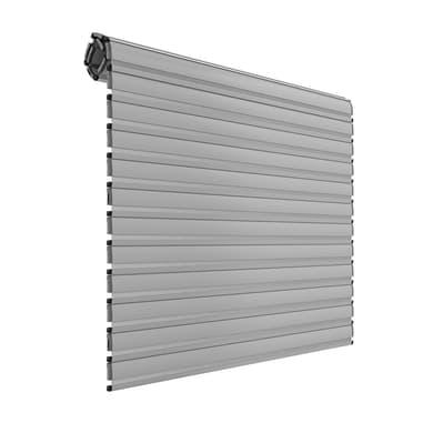 Tapparella avvolgibile in alluminio PINTO grigio Sicurtapp su misura