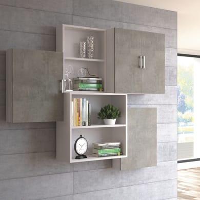 Pensile Multiuso cemento L 45 x H 66 x P 15 cm