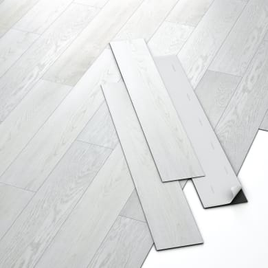 Pavimento pvc adesivo Rough Sp 2 mm bianco