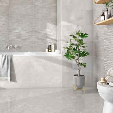 Piastrella decorativa Windsor 30 x 60 cm sp. 10 mm grigio