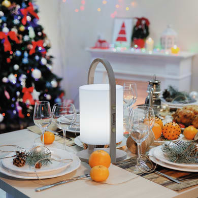 Lampada da esterno Woody H 36.7 cm, luce bianco, LED integrato IP44