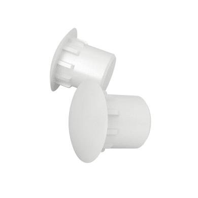 Copri buco FINSA Tondo in plastica bianco 120 pezzi