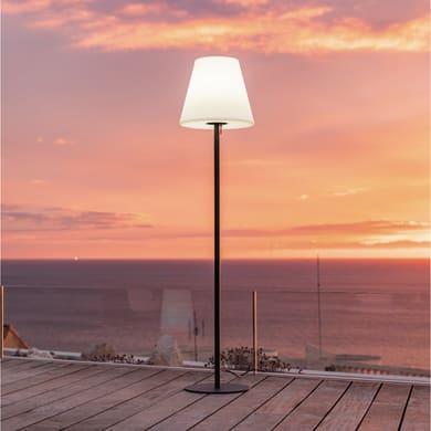 Lampada da terra STANDY W150 H150cm, in plastica, E27 850LM IP44